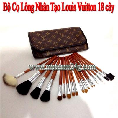 Bộ Cọ 18 cây Louis Vuitton Lông Mềm
