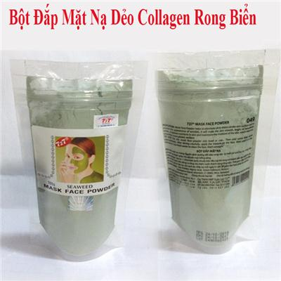 Bột Đắp Mặt Nạ Dẻo Collagen Rong Biển