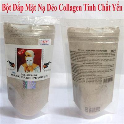 Bột Đắp Mặt Nạ Dẻo Collagen Tinh Chất Yến