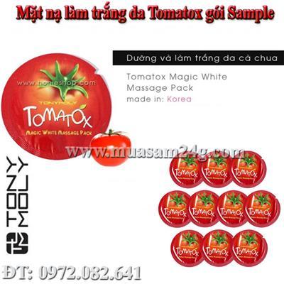 Gói Sample Mặt Nạ Dưỡng và Làm Trắng Da Tomatox