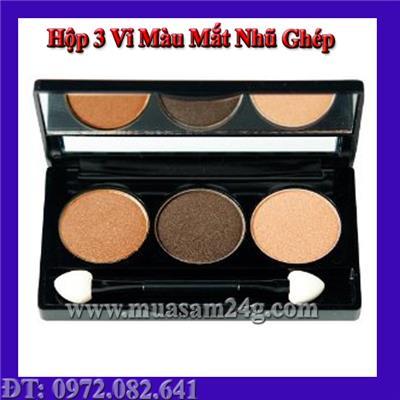 Hộp 3 Vỉ Màu Mắt Ghép (Có Thể Lựa Màu Theo Ý Thích Ghép Lại)