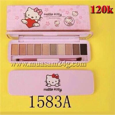 Hộp Màu Mắt Hello Kitty 10ô