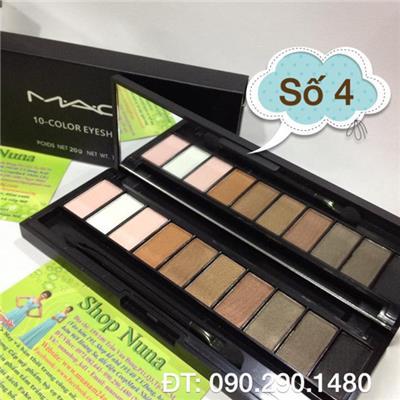 Hộp Màu Mắt MAC 10 ô số 4