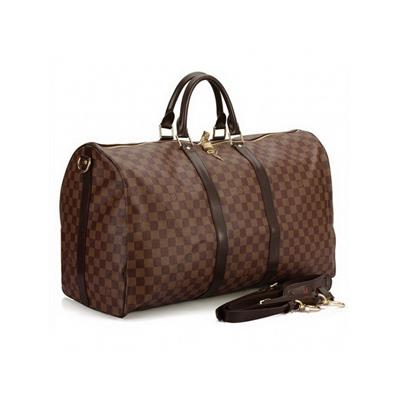 LV Damier Canvas Keepall N41414