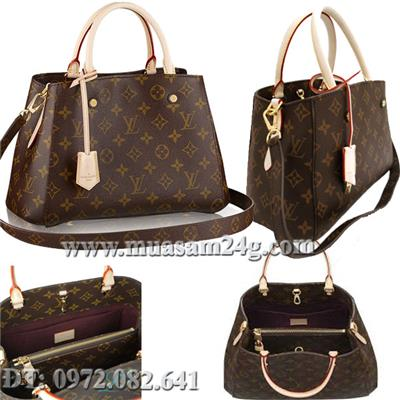 LV Monogram Canvas Montaigne