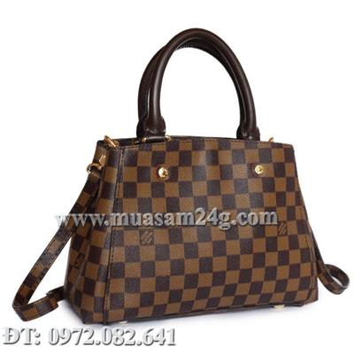 LV Monogram Damier Montaigne Fake 2