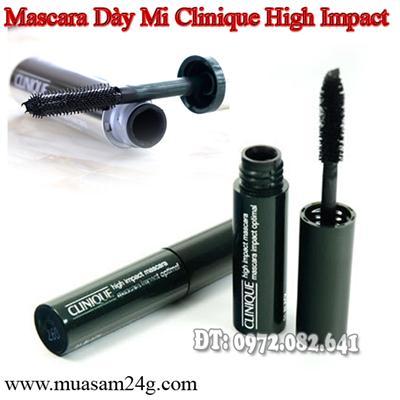 Mascara Dày và Dài Mi Clinique Hight Impact