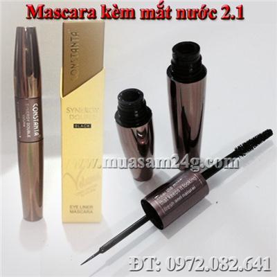 Mascara kèm đầu kẻ mắt nước không lem 2.1