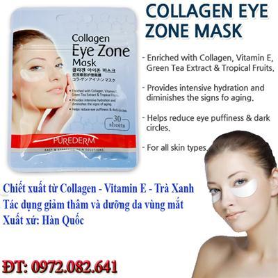 Mặt Nạ Collagen Giảm Thâm Vùng Mắt