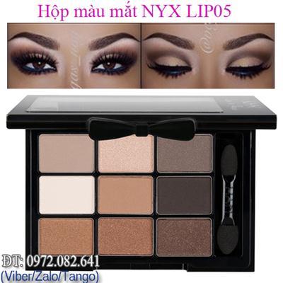 Màu Mắt NYX 9ô USA LIP05