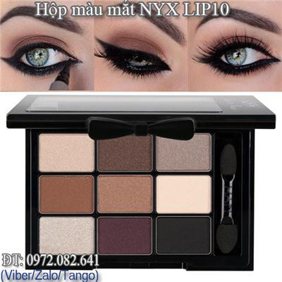 Màu Mắt NYX 9ô USA LIP10