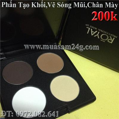 Phấn Hightlight 4ô Royal