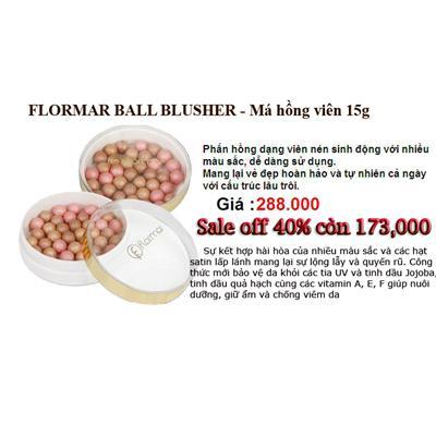 Phấn má hồng ngọc trai Flormar