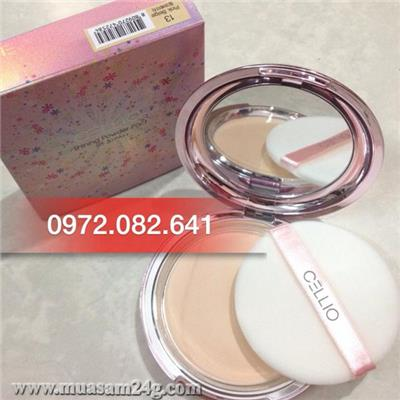 Phấn Nén Shining Powder Pact SPF 36PA++  CELLIO