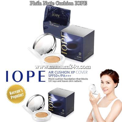 Phấn nước siêu mịn bền màu IOPE AIR CUSHION XP Hàn Quốc