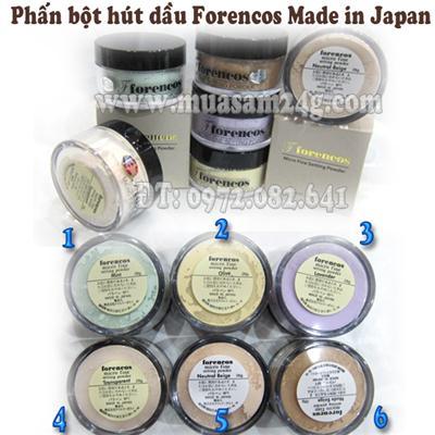 Phấn phủ bột FORENCOS Điều Chỉnh Màu Da (Japan)