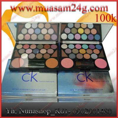 Set CK 15 màu mắt