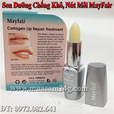 Son Dưỡng Môi Collagen MayFair