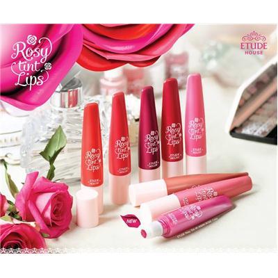 Son Tint dạng kem Rosy Tint Lips Etude