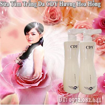 Sữa tắm Trắng Da CDY Hương Hoa Hồng