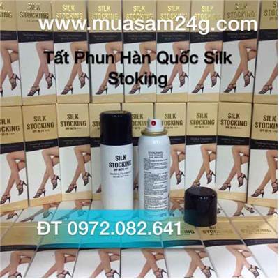 Tất phun Hàn Quốc Silk Stocking 80ml