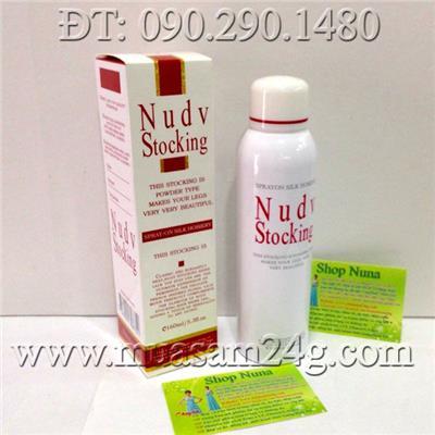 Tất Phun Nhật Bản Nudv Stocking 160ml