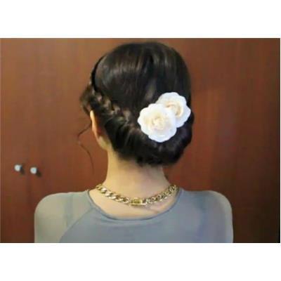 Tết tóc xinh dự đám cưới chỉ trong 10 phút
