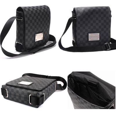 Túi LV Nam đeo chéo N51210 (Caro đen)