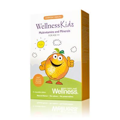 WellnessKids Vitamin-Khoáng Chất Dành Cho Trẻ Từ 4T