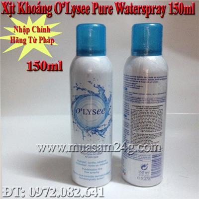 Xịt Khoáng Pháp Olysee Pure Waterspay 150ml