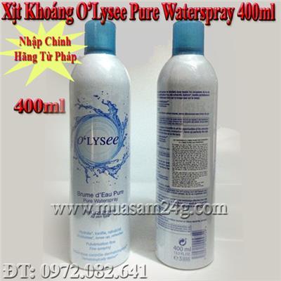 Xịt Khoáng Pháp Olysee Pure Waterspay 400ml