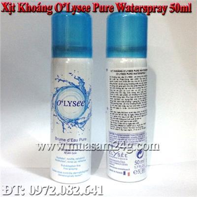 Xịt Khoáng Pháp Olysee Pure Waterspay 50ml